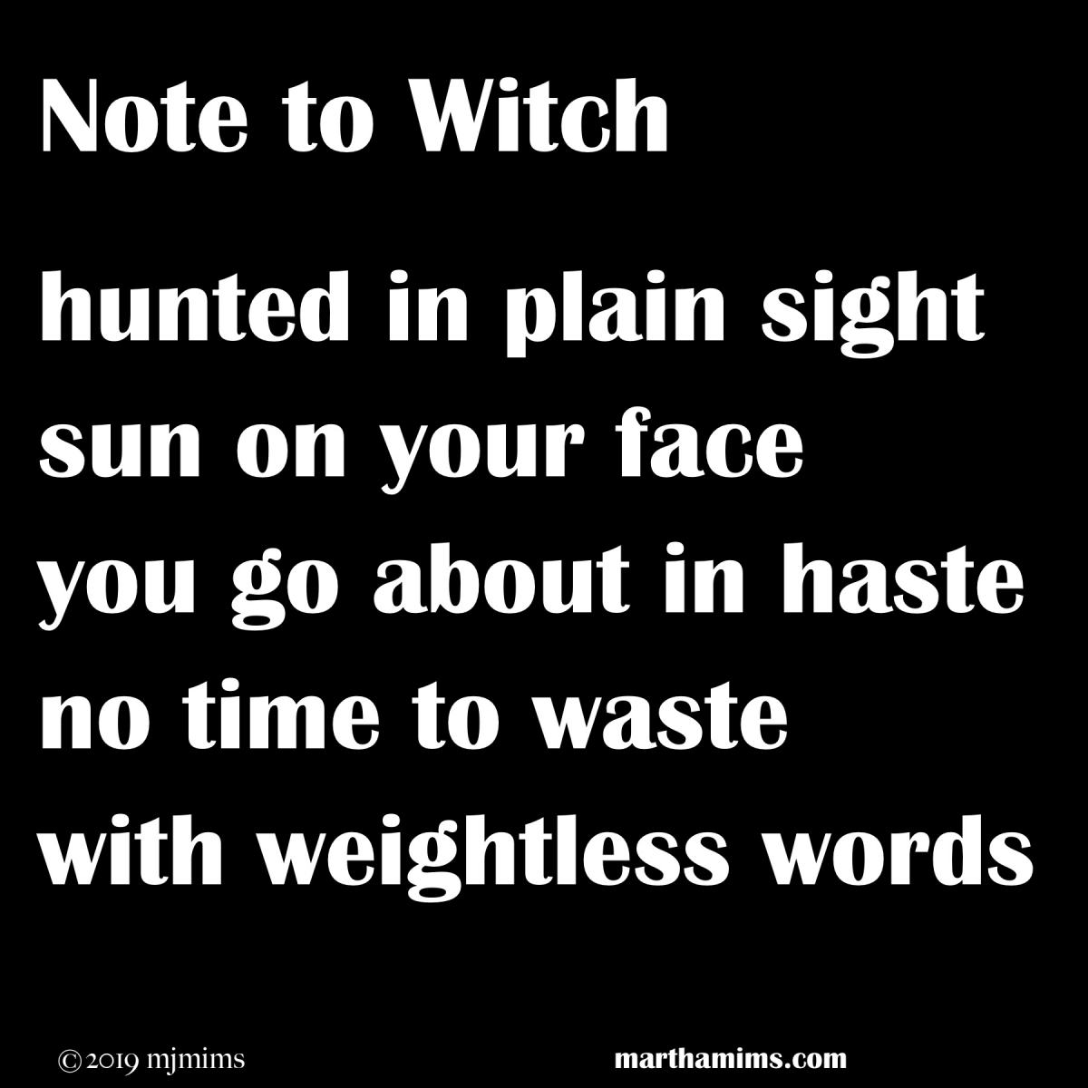 notetowitch